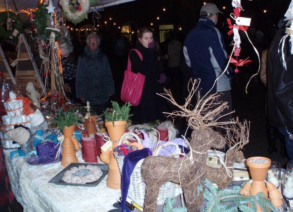 Kerstmarkt zaterdag 15 December