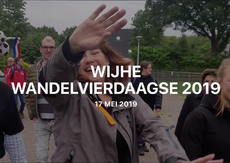 Jaarlijkse wandelvierdaagse in Wijhe